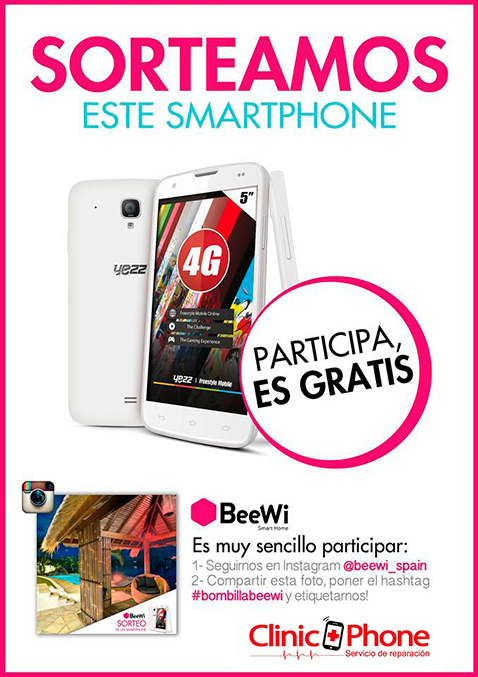 CLINICPHONE SORTEO DE SMARTPHONE outlet store alicante
