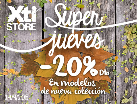 XTI STORE   #SUPERJUEVES - Centro Comercial The Outlet ...
