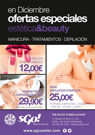 Sgo Ofertas Estética Beauty Centro Comercial The Outlet Stores Alicante
