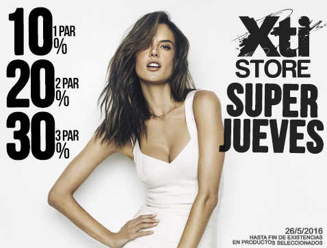 3fd4b3be6fa XTI STORE | #SUPERJUEVES - Centro Comercial The Outlet Stores Alicante