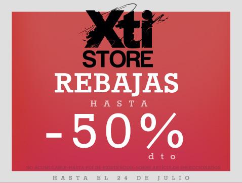 XTI   REBAJAS - Centro Comercial The Outlet Stores Alicante