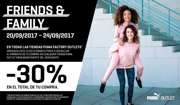 Dec 06,  · Athleisure fans — STOP what you're doing and grab your wallet. Puma is having a massive Friends and Family sale through Dec. 10, and you don't want to miss it.