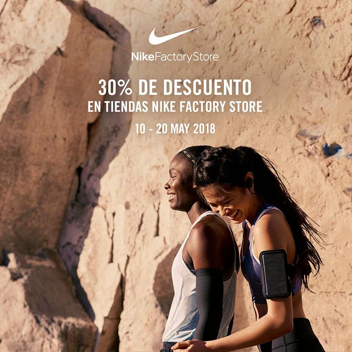 vistazo Publicación periscopio  NIKE | DESCUENTO - Centro Comercial The Outlet Stores Alicante