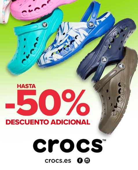 3070d1285f CROCS   DESCUENTOS - Centro Comercial The Outlet Stores Alicante