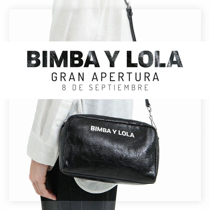 super popular 48e6c d464c BIMBA Y LOLA | Nueva apertura - Centro Comercial The Outlet ...