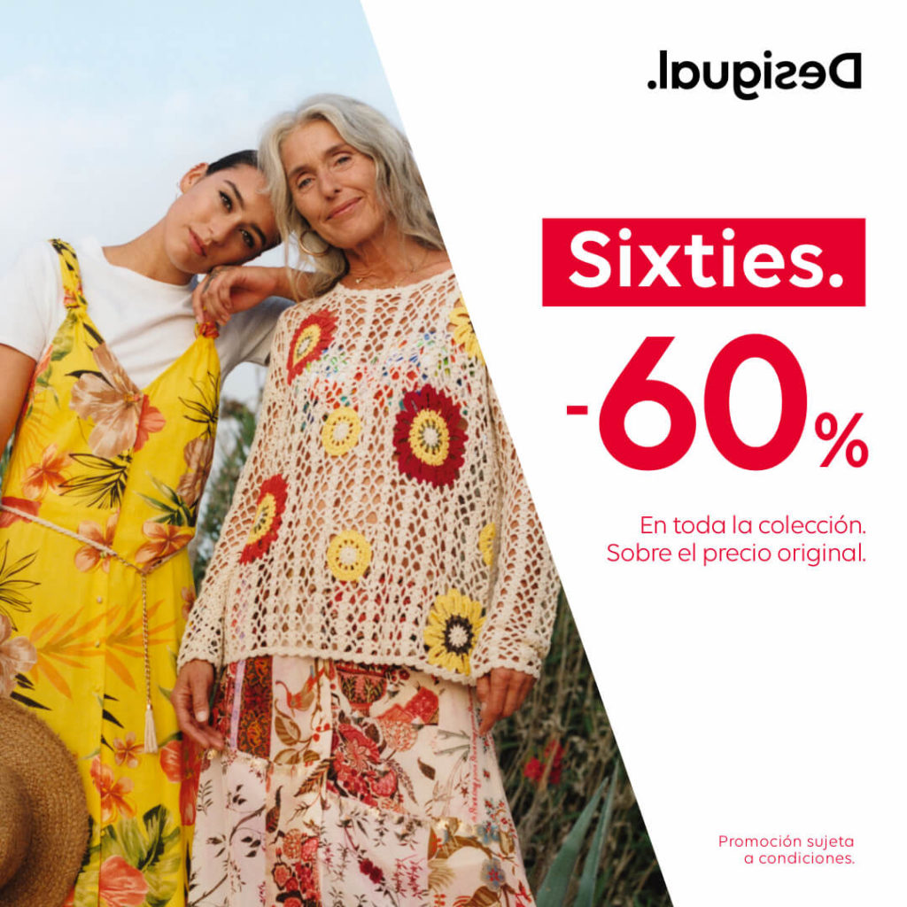 Imagen de promoción Sixties de Desigual